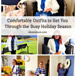 Is your calendar getting full with lots of holiday events? Now is the time to make sure your wardrobe can get you through to New Years. I'm excited to partner with Blair, an online clothing company, to share some stylish and comfortable outfits for the holiday season. Whether you are decorating or baking or entertaining, these easy-to-wear looks from Blair.com will have you feeling fabulous and confident.