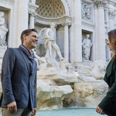 """Hallmark Channel's Countdown to Christmas is one of my favorite holiday traditions! Watch Hallmark Channel's premiere of """"Christmas in Rome on Saturday, November 30th at 8pm/7c!"""