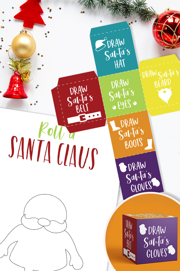 Who is in the Christmas spirit? I know I am and I have a really fun FREE Christmas game you can print now to play with the kids. Roll A Santa is a fun Christmas Game for kids that they can play by themselves or with others.
