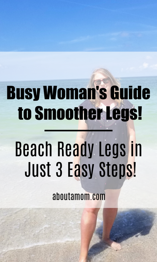 How to get smoother legs. Being a woman is serious business! With things like relationships, aging parents, kids, careers and housework to juggle, women are notorious for putting themselves last. Your time is valuable. Learn how to get beach ready legs in just 3 easy steps!