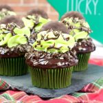 Mint goes hand and hand with St. Patrick's Day. If you are looking for an amazing St. Patrick's Day cupcake, you have to make these Andes Mint Cupcakes.