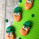If you want the cutest St Patrick's Day cookies, you want to make these adorable Leprechaun Cookies made with Nutter Butters. These cookies look so cute and they are super easy to make. Perfect for a St. Patrick's  Day party for kids and adults alike.