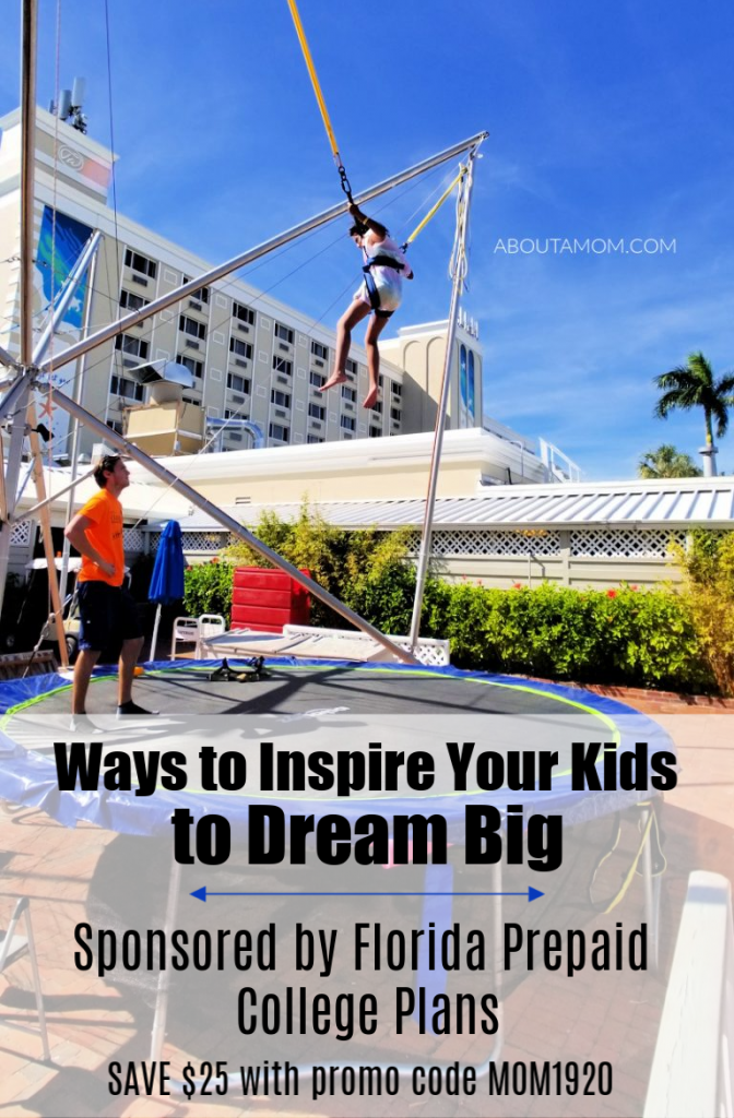Imagine how much better a place the world would be if we all dreamed like kids again and embraced our passions. Would you believe me, if I told you it's possible? It all starts by raising children who value the importance of their very own dreams. Here are some ways to inspire your kids to dream big.