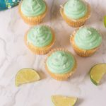 The perfect blend of lime and coconut makes these Lime Coconut Cupcakes a delicious tropical treat. You'll love the bright tropical flavors and the homemade buttercream, topped with coconut, makes these cupcakes over-the-top delicious.