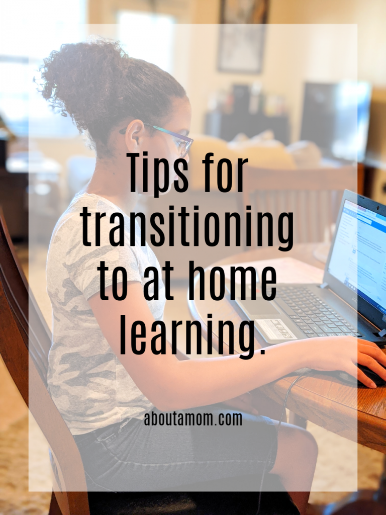 Whether you are new to homeschooling, doing virtual school or teaching at home due to school closure these tips for transitioning to at home learning and weekly assignment printable will help.