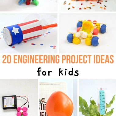 Looking for boredom busters? Learning can be a LOT of fun for kids. Don't let a lack of ideas stop you from teaching your kids STEM. Use these ideas so that you can get kids excited. These STEM projects for kids are fun and easy and they are sure to get kids excited.