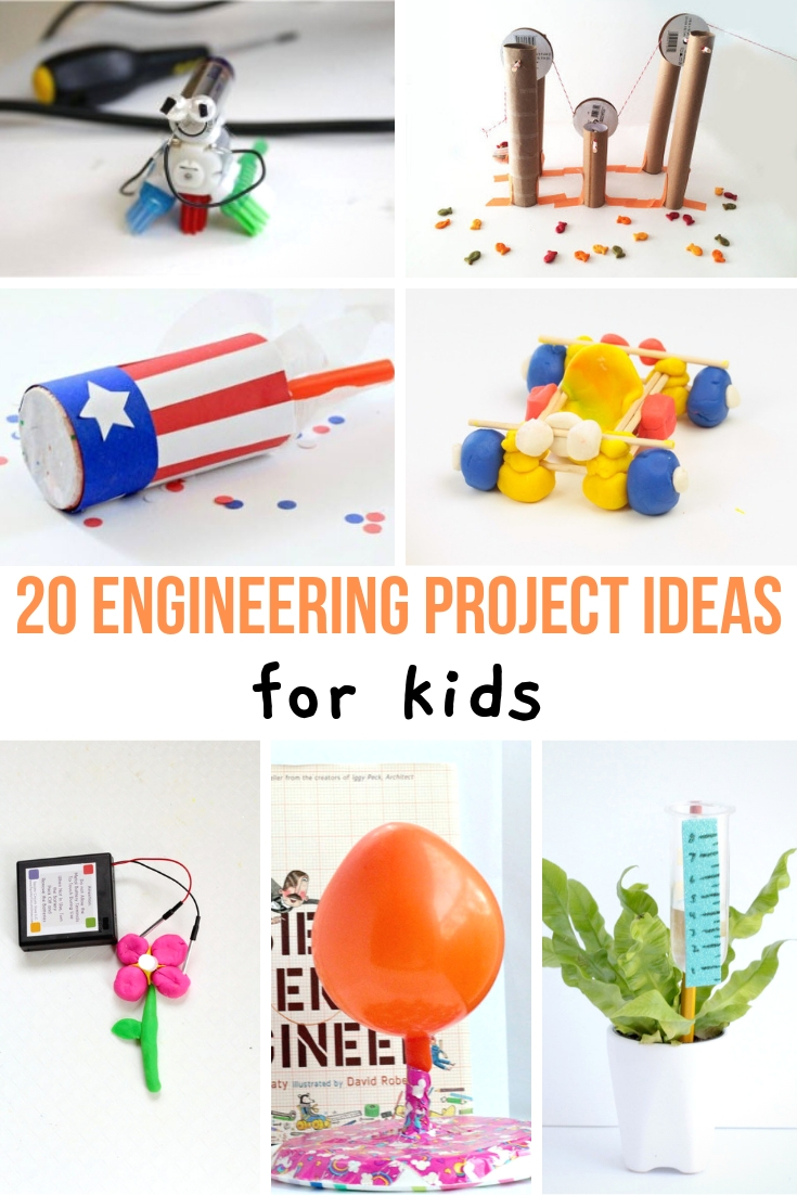 Engineering Stem Projects For Kids About A Mom