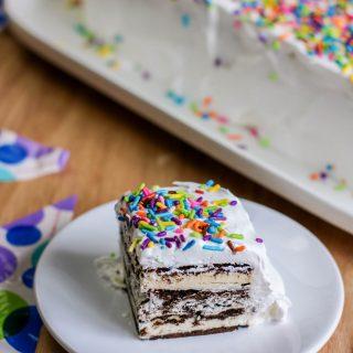 Ice Cream Sandwich Cake