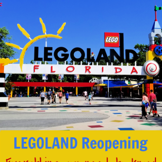 Here is everything awesome about Legoland reopening its Florida theme park gates for the first time since the March shutdown.