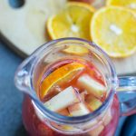 This Mango Sangria recipe is ideal for a special occasion, get-togethers or whenever you want a special cocktail. This sangria recipe is so simple to make and you will love the colorful, fruity combination. Make a pitcher of this fruity sangria for your next girl's night in.