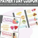 Need a terrific last minute Father's Day gift idea that's totally free? Make Father's Day extra special for dad with this free printable Father's Day Coupon Book. This book will give dad everything he needs to have a fun and relaxing day, whenever he needs it.