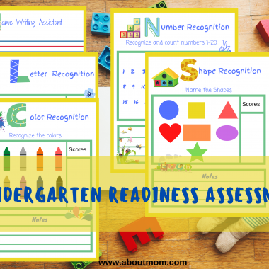 Wondering if your child is ready for Kindergarten? Use this free Kindergarten Readiness Assessment printable activity pack to see where your child is right now and where they should be as they are getting ready to start Kindergarten. Included are color and shape recognition activities and more.