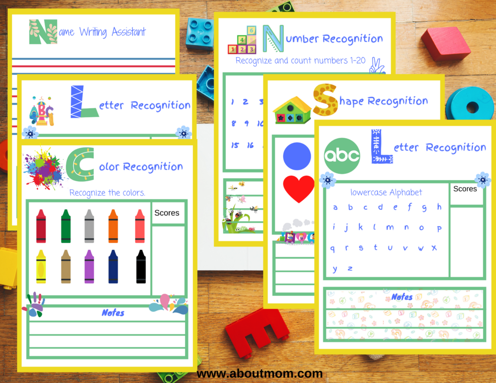 Wondering if your kids are ready for Kindergarten? Use these easy Kindergarten Readiness Assessment printable activity pack to see where your child is right now and where they should be as they are getting ready to start Kindergarten.