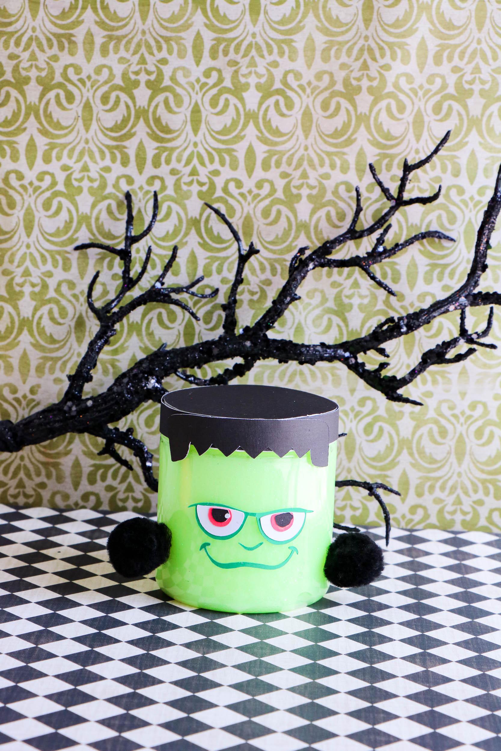 Frankenstein Glow in the Dark Slime