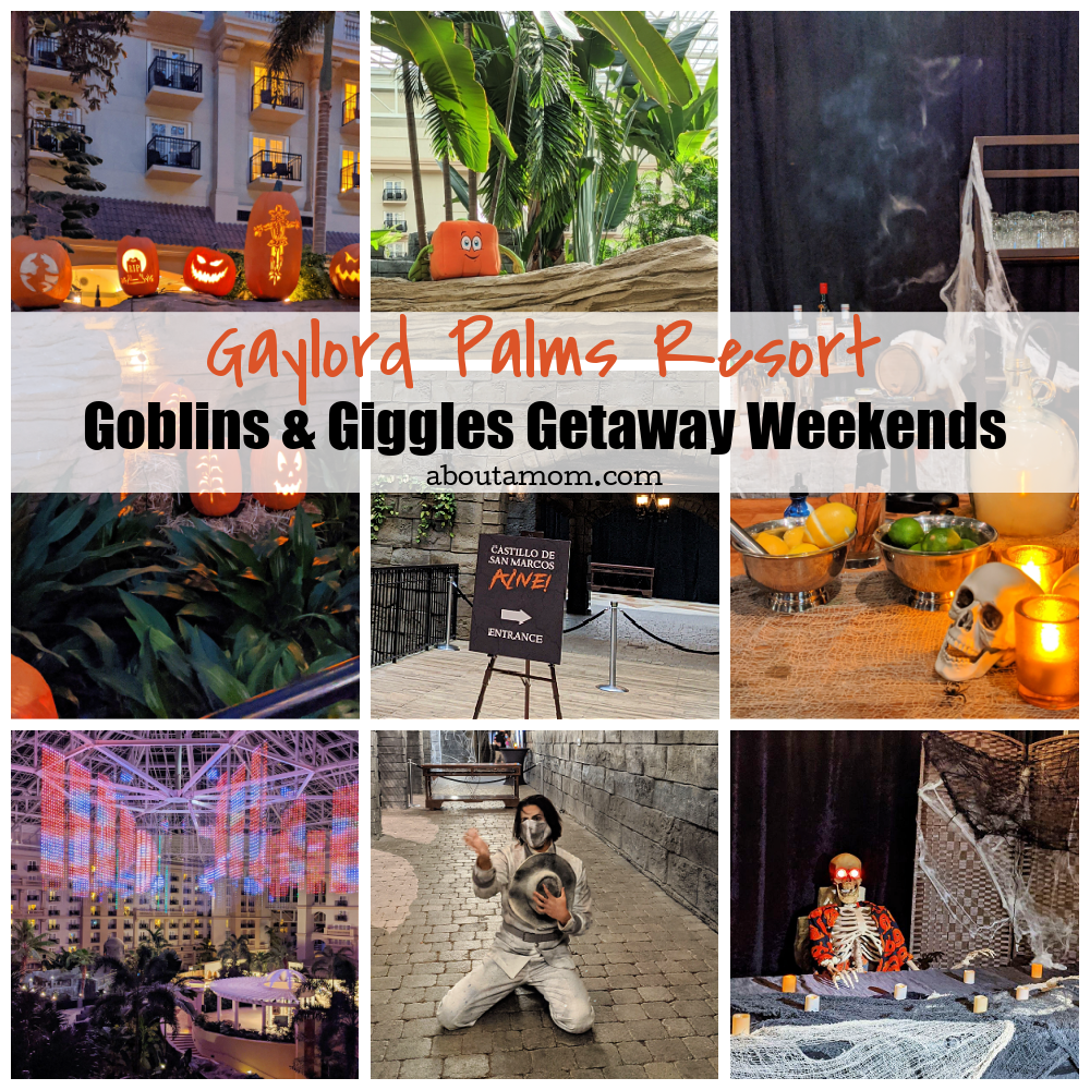 Looking for safe fall fun in Central Florida? Goblins and Giggles Getaway Weekends at Gaylord Palms Resort in Kissimmee is a spooktacular way to celebrate the Halloween season!