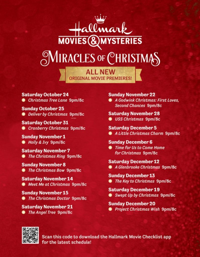 Hallmark Channel Countdown to Christmas