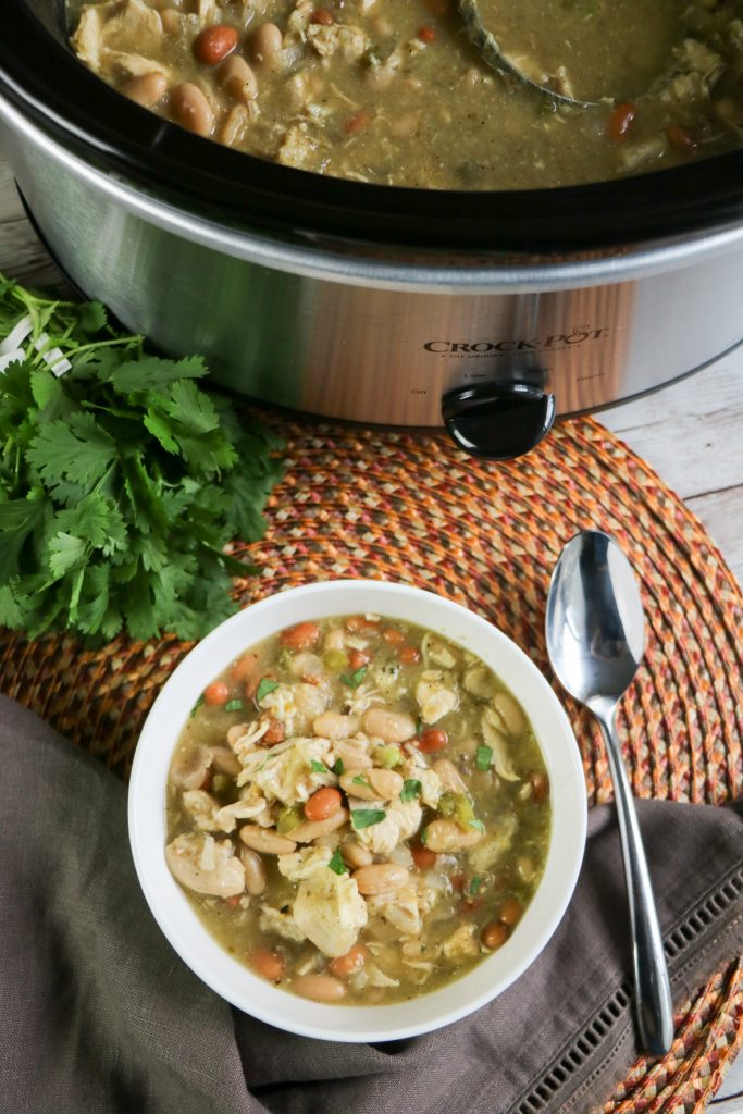 This Slow Cooker White Chicken Chili recipe is the perfect meal to share with your friends and family. You can enjoy after a busy day or a crazy schedule.