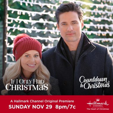 "Hallmark Channel Original Premiere of ""If I Only Had Christmas"" on Sunday, Nov. 29th at 8pm/7c! #CountdowntoChristmas"