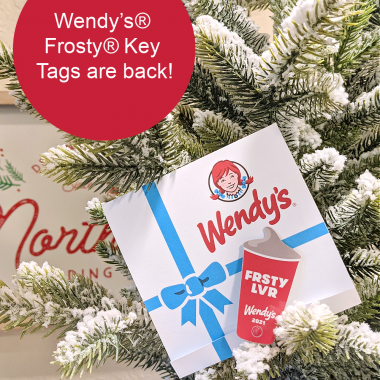 Wendy's® annual Frosty® Key Tags fundraising program runs now through January 31, 2021. You can purchase a Wendy's Frosty Key Tags for just $2 each, redeemable for one free Jr. Frosty treat per visit with any purchase in 2021 to support the DTFA's efforts to find forever families for children in foster care.