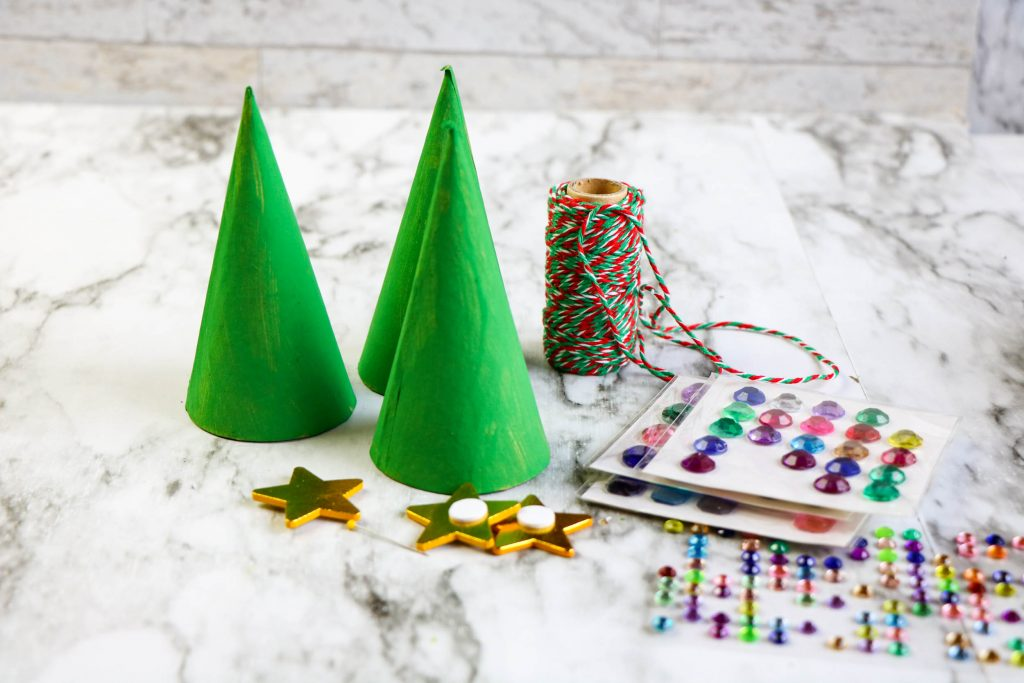 decorations for paper tree ornaments