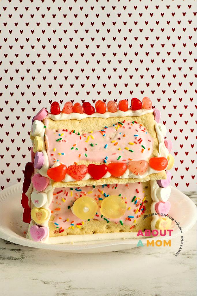 decorated Pop Tart house