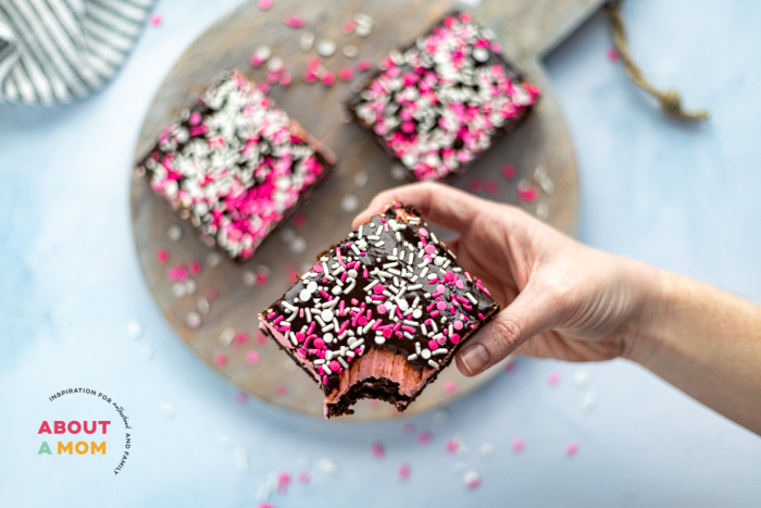 Valentine's Day Brownies Recipe