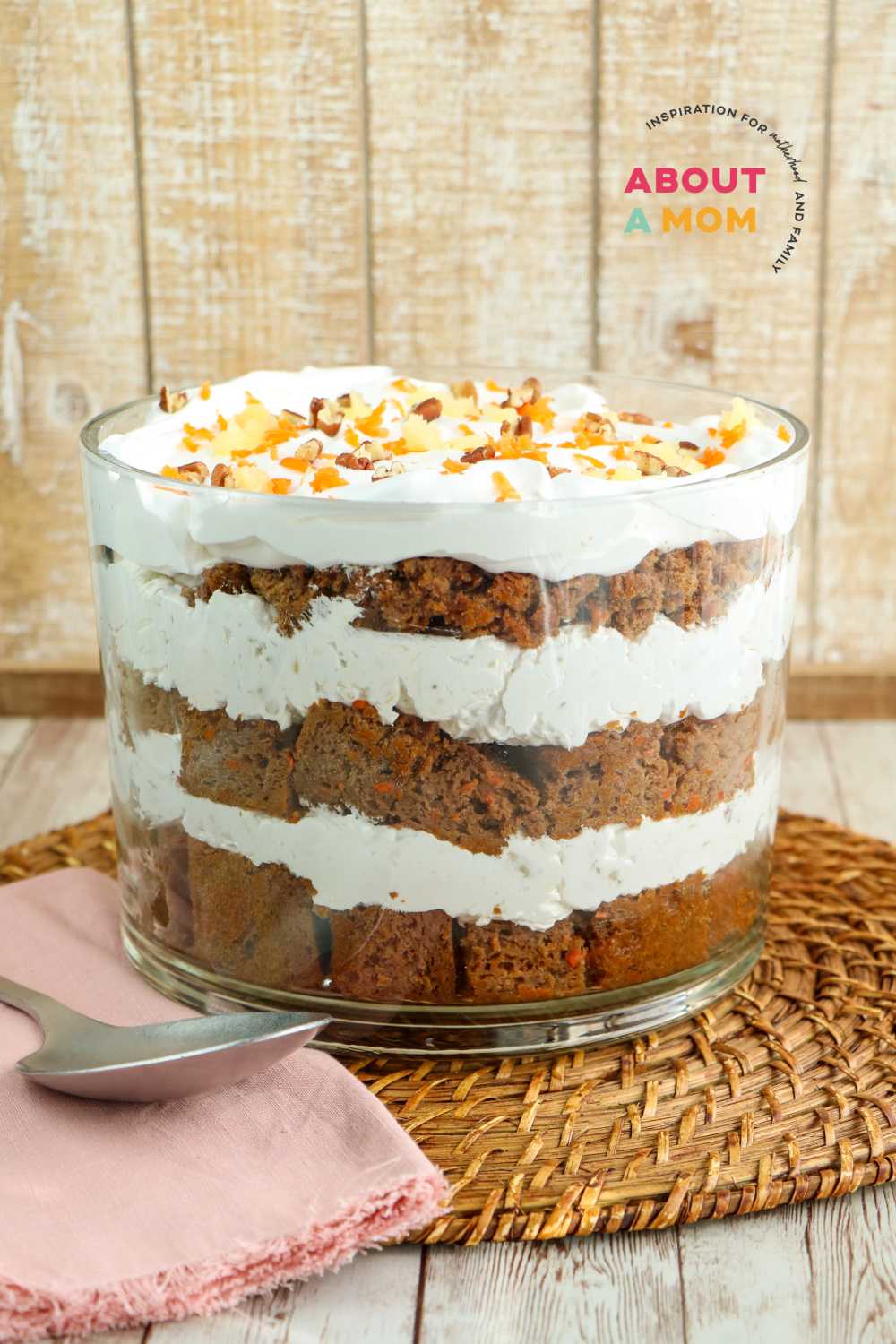 Carrot Cake Trifle Recipe