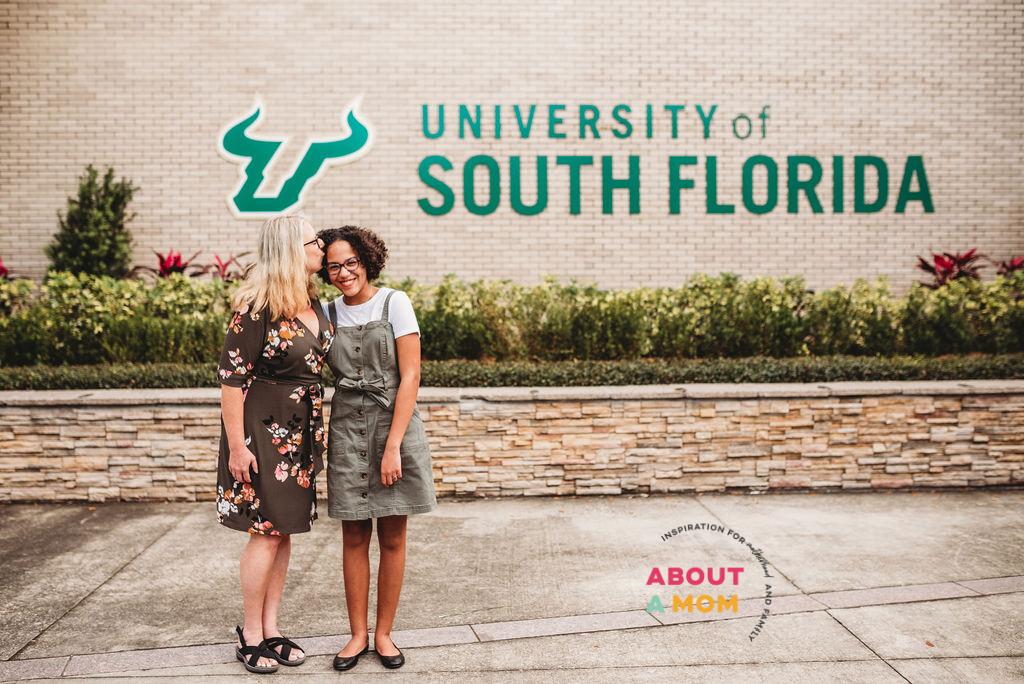 Florida Prepaid USF college campus tour