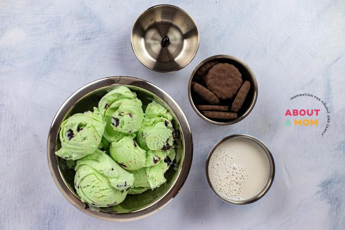Grasshopper Milkshake Ingredients