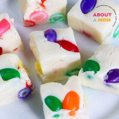 Jelly Bean Fudge for Easter