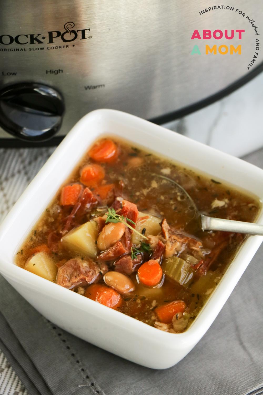 Leftover Ham Bone Soup Recipe