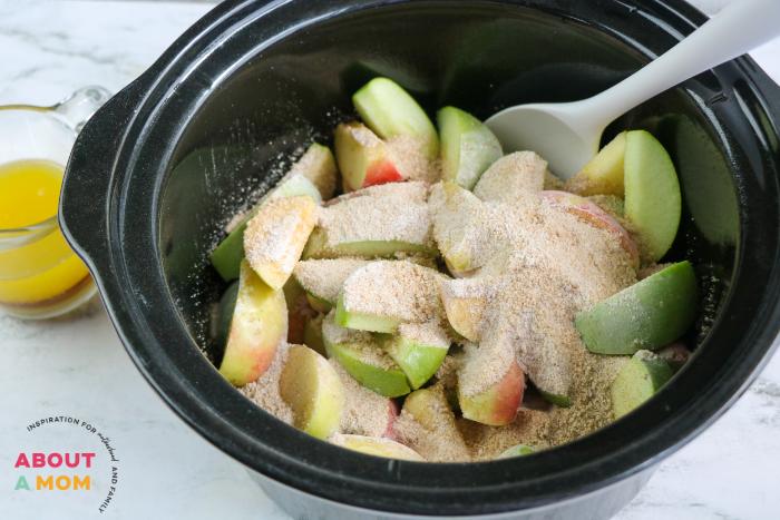 Slow Cooker Cracker Barrel Apples