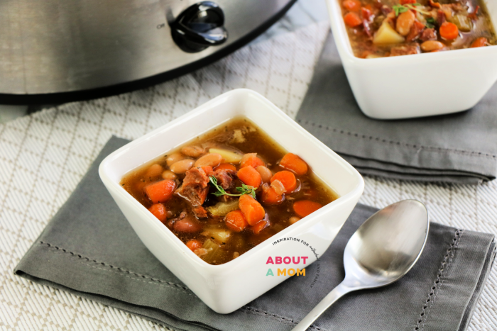 crock pot ham bone soup recipe