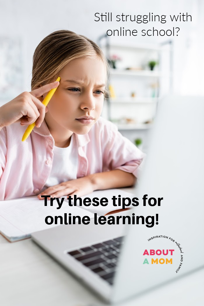 If you have been struggling with online school and need ideas to make e-learning work for you and your children, here are some tips to help you finish out the school year strong.