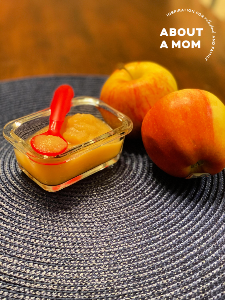 A step by step guide on how to make homemade baby food puree, including tools needed, prep and storage.