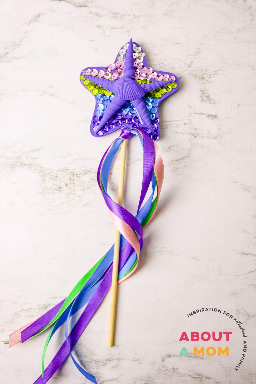 Mermaid DIY Wand Craft