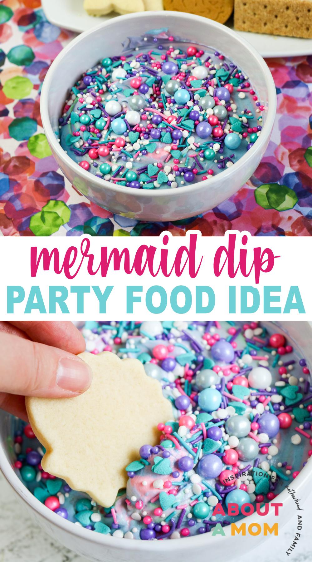 Mermaid Party Food Idea: Mermaid Dip