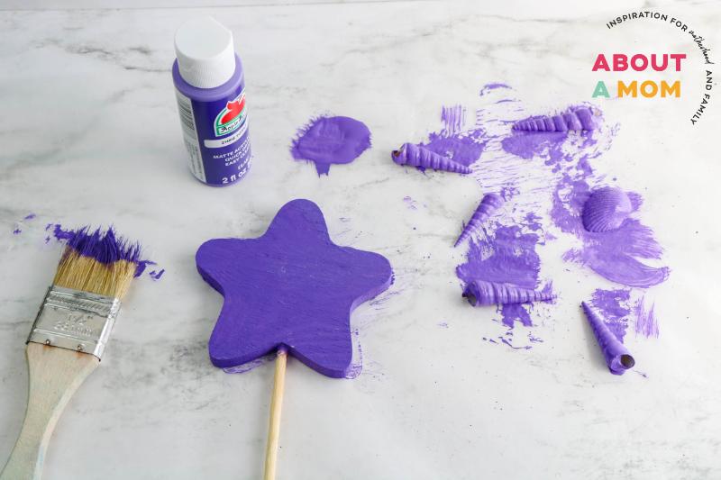 paint the star purple