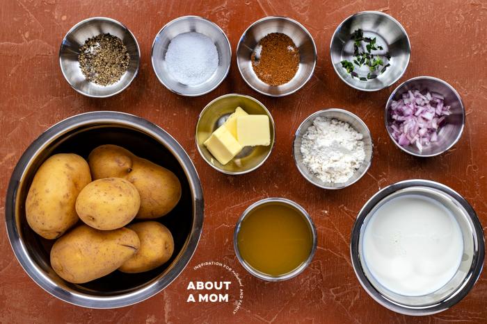 scalloped potatoes ingredients