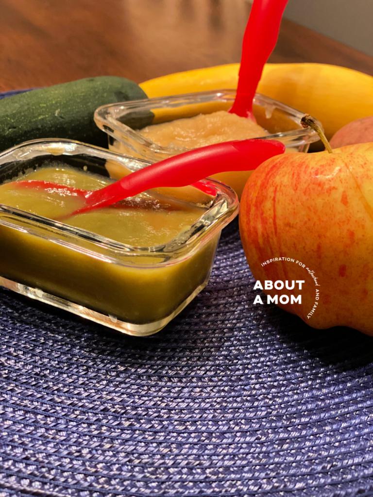 How to Make Homemade Baby Food Puree