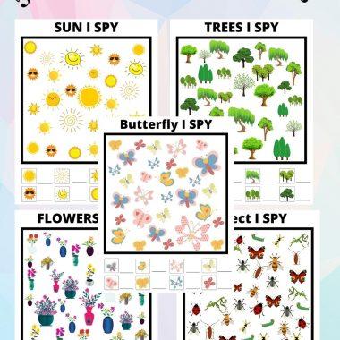 5 summer fun I spy games