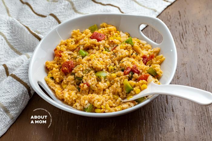 Cheesy Mexican Rice Recipe