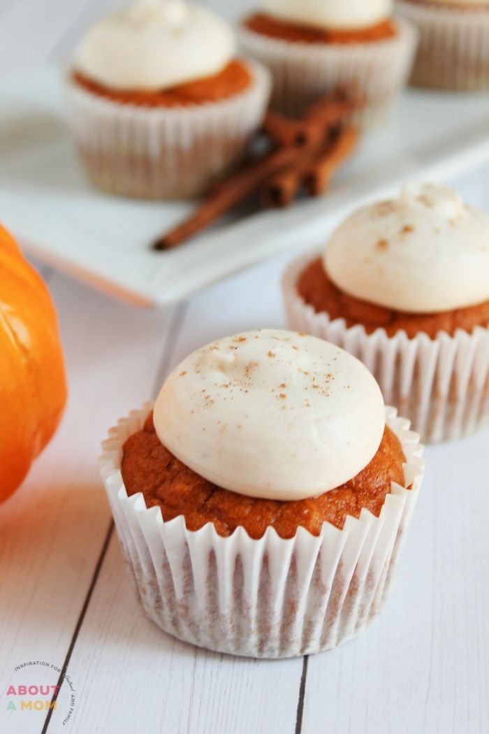 Pumpkin spice cupcakes are an iconic fall treat. What better way to celebrate the coming of autumn than by baking up a batch of these delicious pumpkin treats? This recipe is gluten free too, so it's perfect for those with dietary restrictions or allergies.