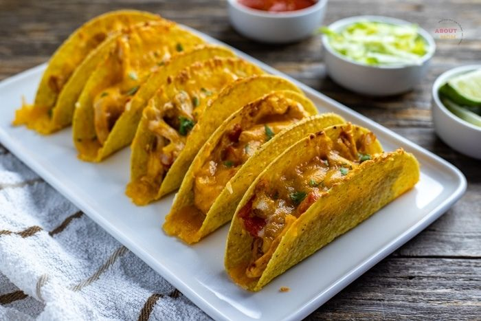 How to make tacos in the oven. Step by step directions to make out-of-this world oven baked chicken tacos.
