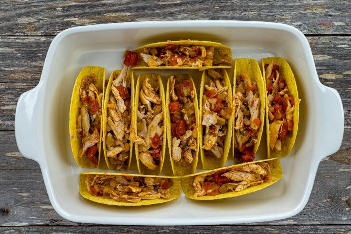 tacos in a dish